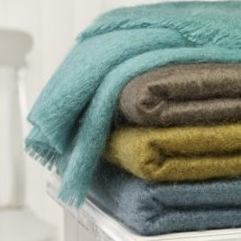 Bronte Mohair Throws