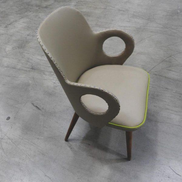 Englisch Dekor Mammut Leatherette Upholstery