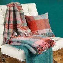 Bronte-Throws & Cushions Shetland Flamingo Aqua-209x300