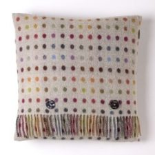 Bronte Cushions MSCH-A01LC-Lambswool-Cushion-Multispot-Beige-Multi-250x250