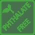 Englisch Dekor Symbol Phthalate-free