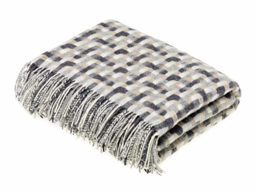 Bronte Throws T0061-AE19-Lambswool-Geometric-Natural-500x375