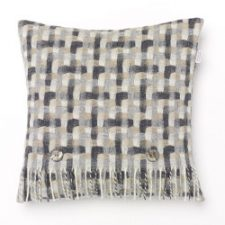 Bronte Cushions T0061-AE19 Lambswool Geometric Natural -250x250