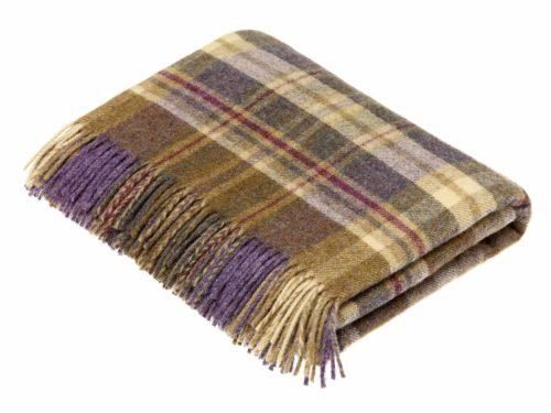 Bronte Throws T0449-AX38-Shetland-Glen-Coe-Heather-Throw-500x375