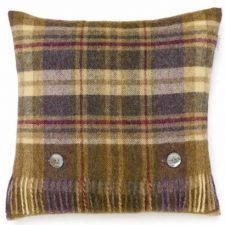 Bronte Cushions Country Check T0449-AX38LC-Shetland-Glen-Coe-Heather-500x479