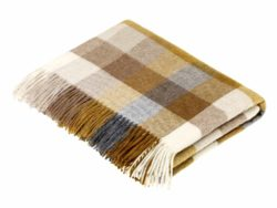 Bronte Throws T0463-M07-Lambswool-Harlequin-Gold-Throw-250x188