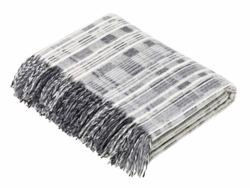 Bronte Throws T0479-A01-Lambswool-Multistripe-Grey-Throw-500x375