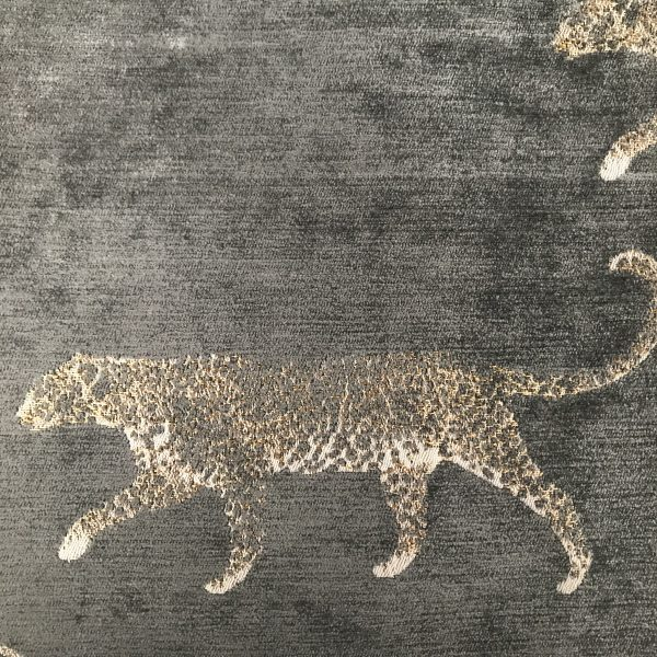 TRABETH Safari Leopard Grey