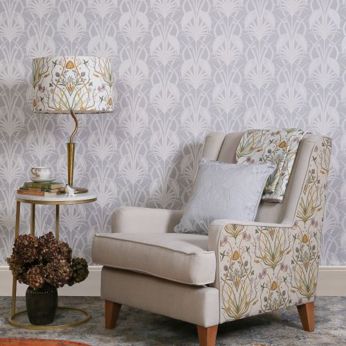 Design Studio, The Chateau, Deco Heron, Grey Wallpaper Room