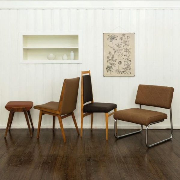 Englisch Dekor Chesterfield Art Collection Leatherette Upholstery