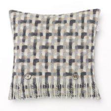 Bronte Cushions T0061-AE19 Lambswool Geometric Natural -250x250