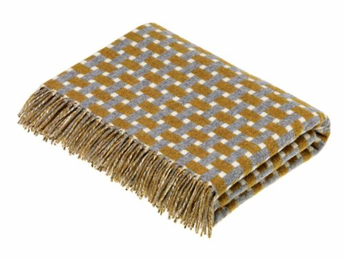 Bronte Throws T0432-D03-Lambswool-Rectangle-Gold-Grey-Throw-500x375