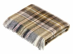 Bronte Throws T0449-W18-Shetland-Glen-Coe-Mustard-Throw-250x188