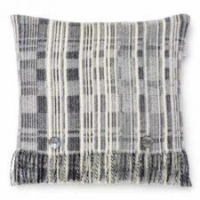 Bronte Cushions T0479-A01-Lambswool-Multistripe-Grey-Cushion-500x479