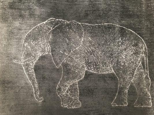 TRABETH Safari Elephant Grey