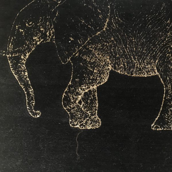 TRABETH Safari Elephant Noir