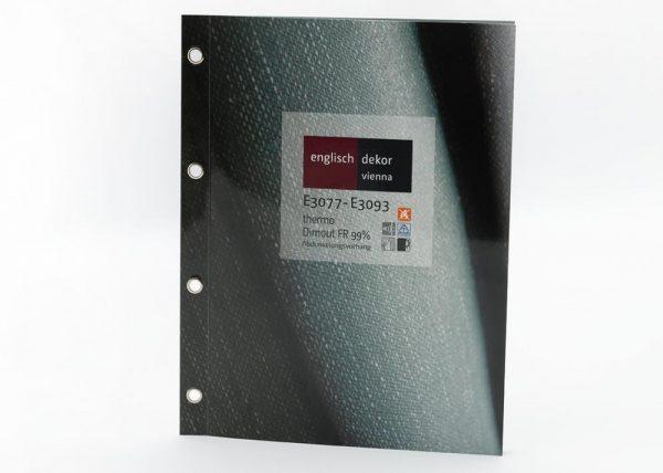 Englisch Dekor, E3077-E3093, PES FR,150cm Card Front