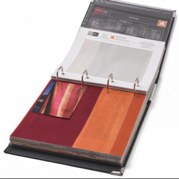Englisch Dekor Printed Dimout Day-and-night Book