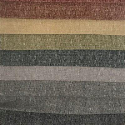 Trabeth Monza, (Top to Bottom): Rust, Oche, Olive (?), Jade, Dove, Soft Grey, Elephant, Charcoal