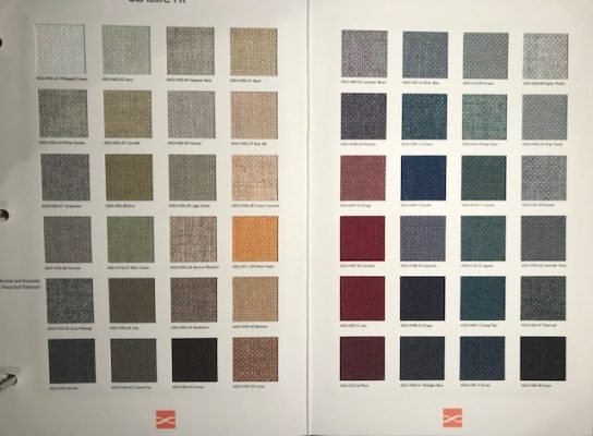 Innovasia Classic FR colour card