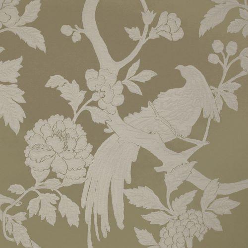 Pasaya, Modern Oriental, MO01 wallcovering, Goldenrod