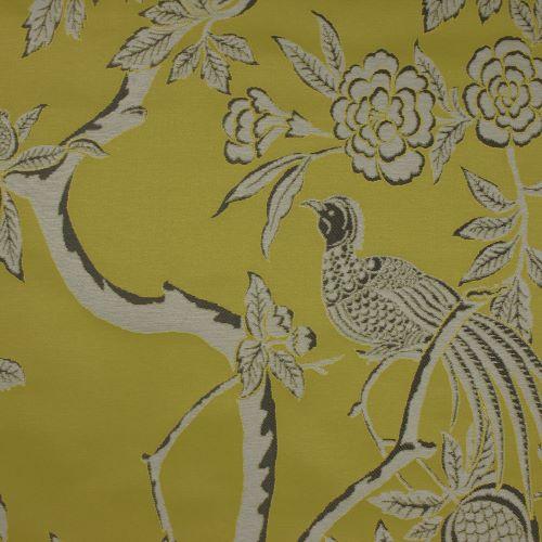 Pasaya, Modern Oriental, MO02 wallcovering, Ornate Yellow