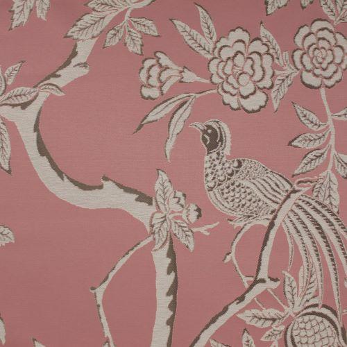 Pasaya, Modern Oriental, MO02 wallcovering, Pink Paradise