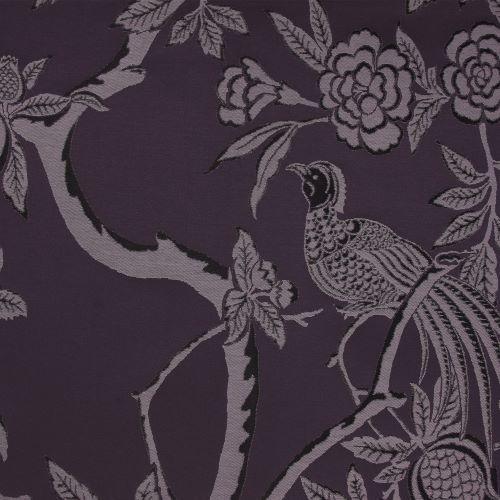 Pasaya, Modern Oriental, MO02 wallcovering, Regal Violet