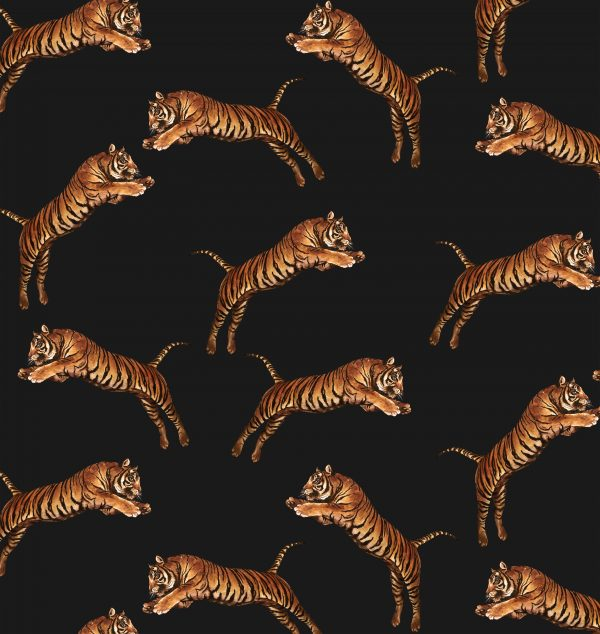 Pouncing Tigers Black