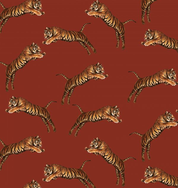Pouncing Tigers Red