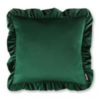 Ruffle Emerald 45x45cm