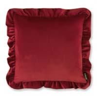 Ruffle Red 45x45cm